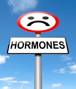 Hormones concept.